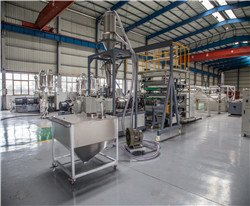 Whole sheet extrusion line