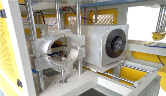 PVC pipe socket machine