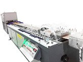 plastic profile extruding machine
