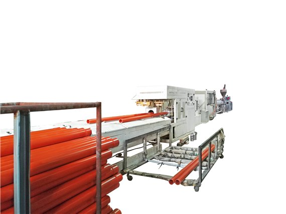 pvc pipe extruding machine