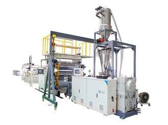 PVC marble sheet extruding machine