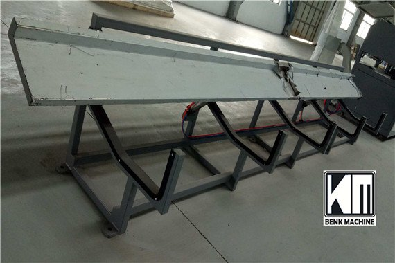 stacker for pvc profile extruding line