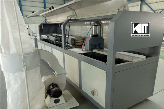 Haul-off and cutter for PVC profile production line