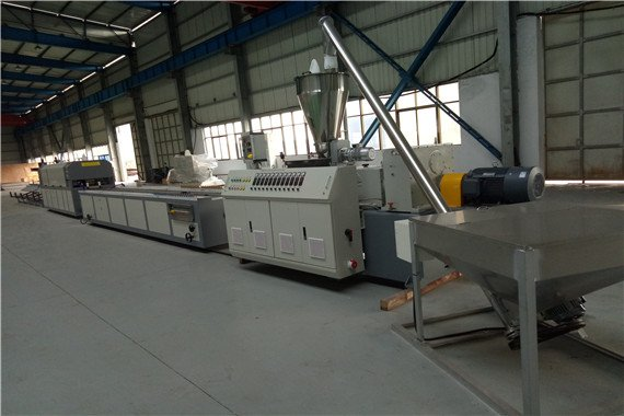 PVC profile production line