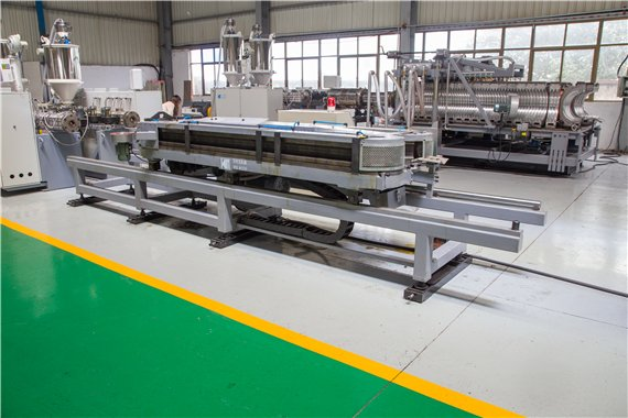DWC PIPE EXTRUSION MACHINE
