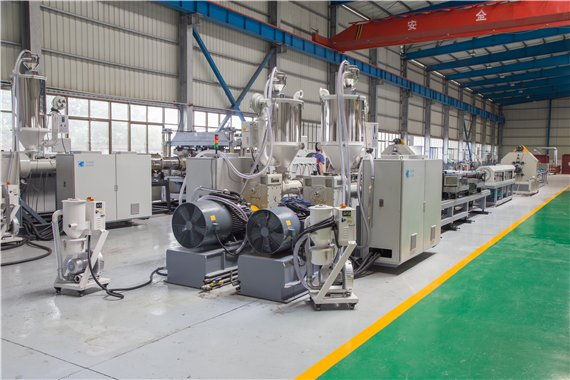 CORRUGATED PIPE EXTRUSION LINE
