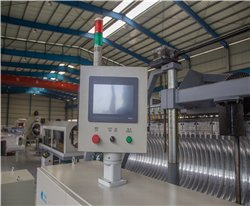 Siemens touch screen for forming machine