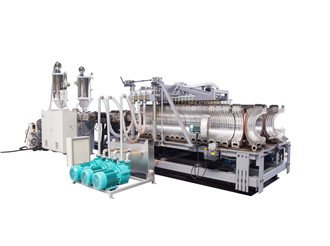 DWC HDPE pipe making machine