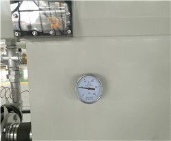 water temperature meter of vacuum tank