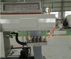 cooling water outlet for calibrator of extrusion die