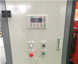 Siemens PLC controller for haul-off