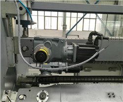 encoder for counting pipe length