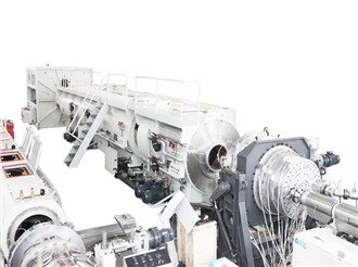 HDPE pipe solid pipe making machine