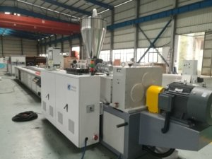 plastic profile making machine