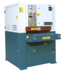 sanding machine for PE-wood profiles