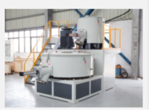 the mixing system for PVC sheet extrusion line