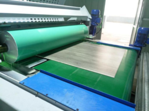 UV coating machine for SPC vinyl floor