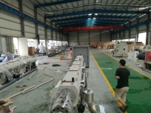 PVC pipe making line