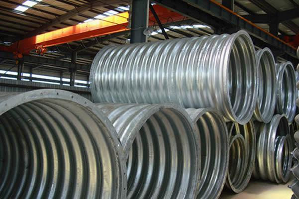 Metal Corrugated Pipes