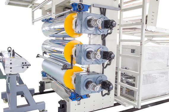 three-roller calender