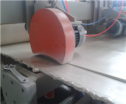 Side cutting saw