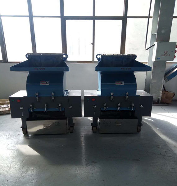 PVC foam board crusher