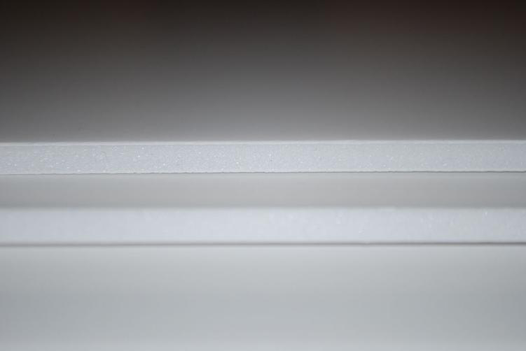 White PVC foam board