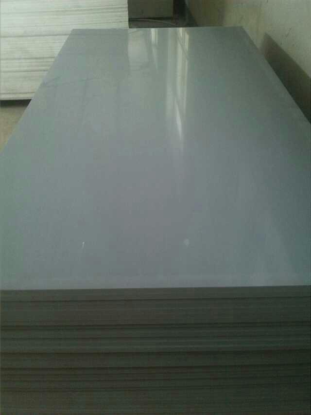 Shiny plastic foam boards