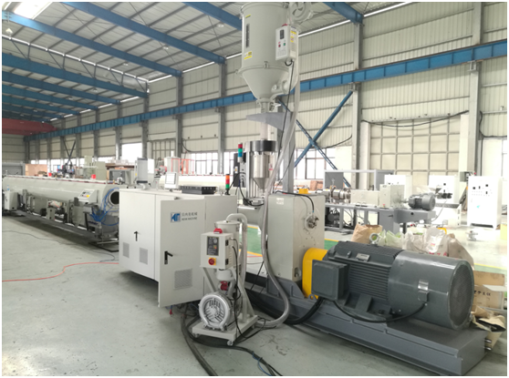 HDPE pipe making line