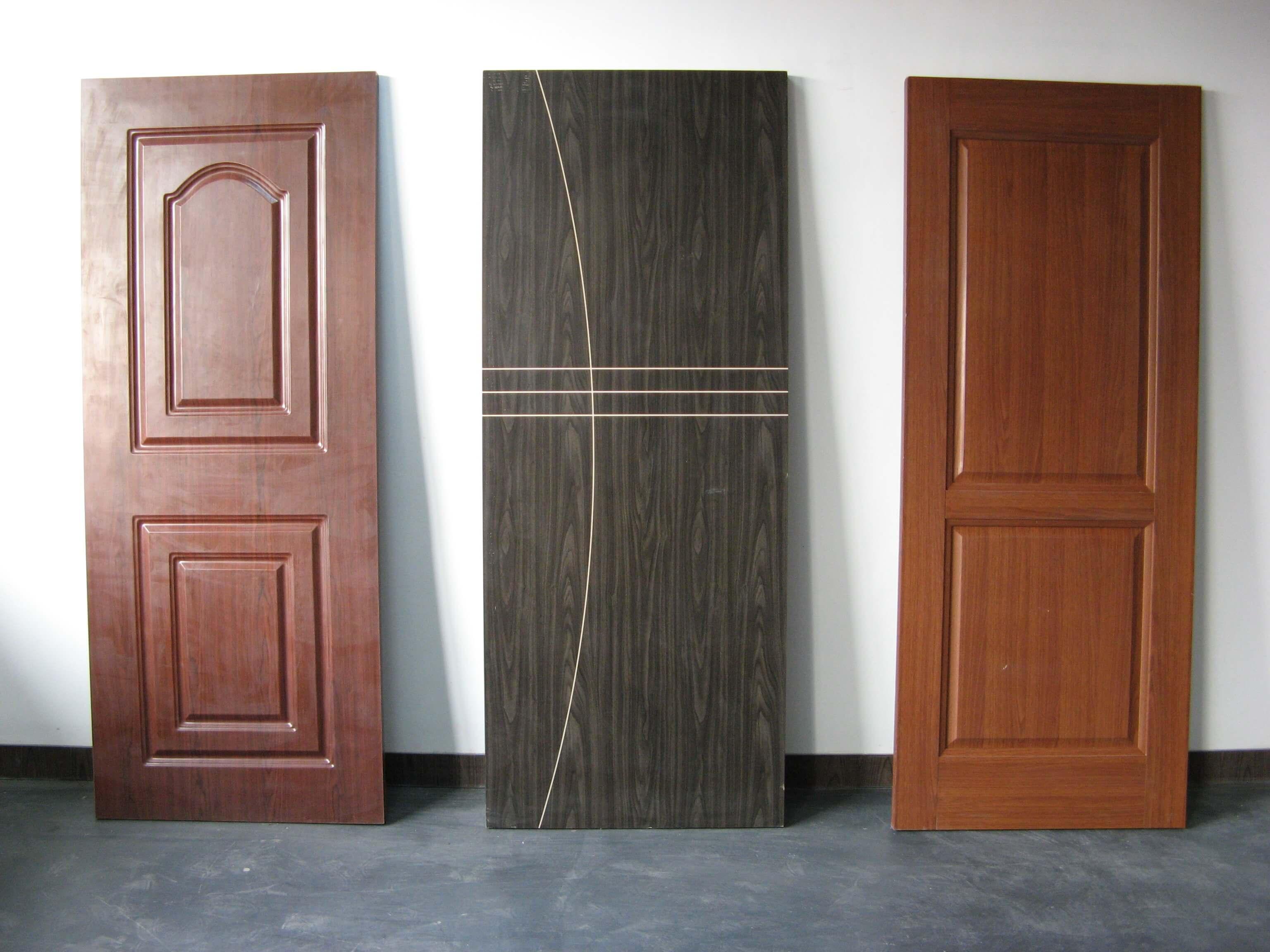 finished door board