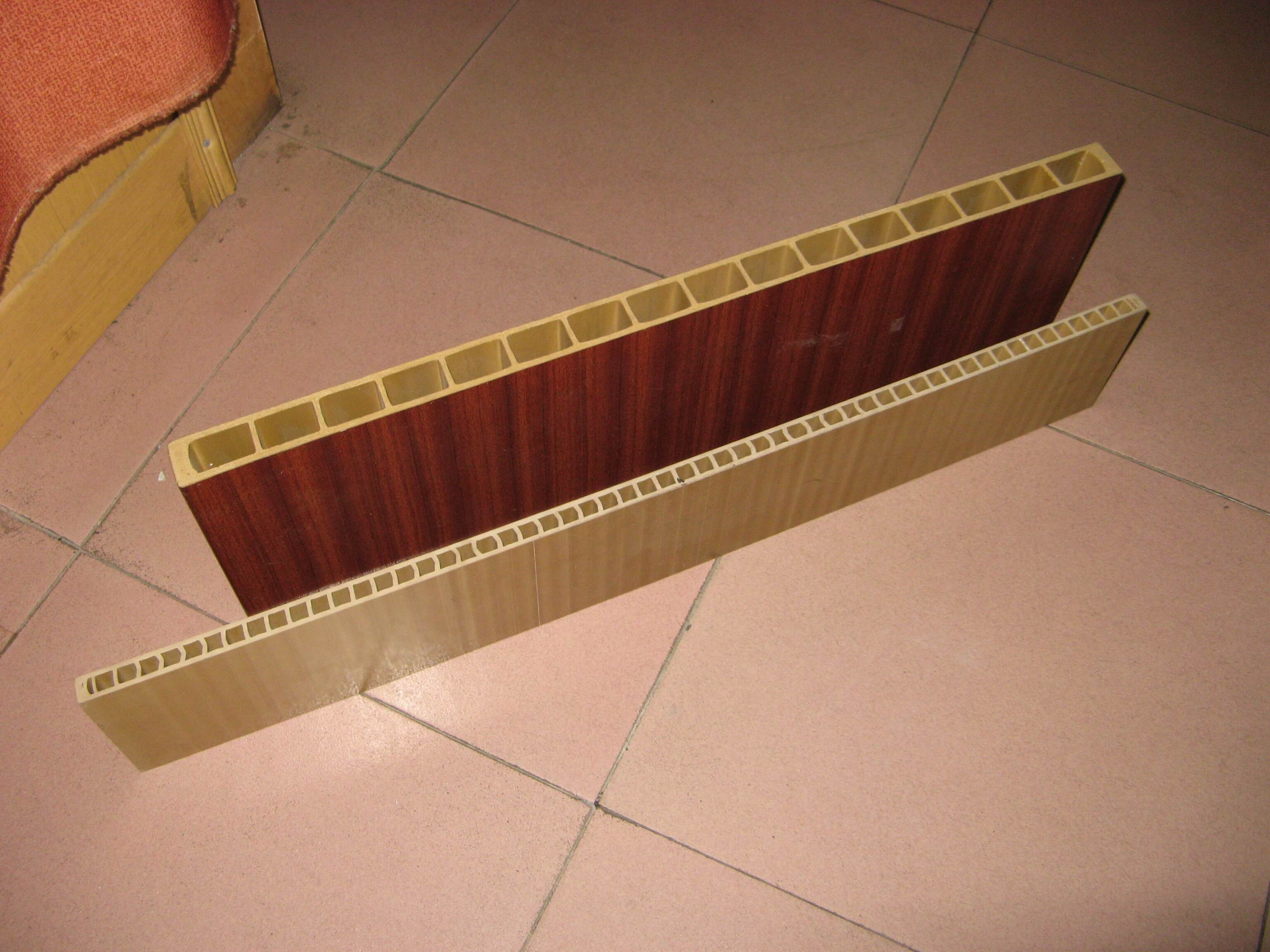WPC hollow door board