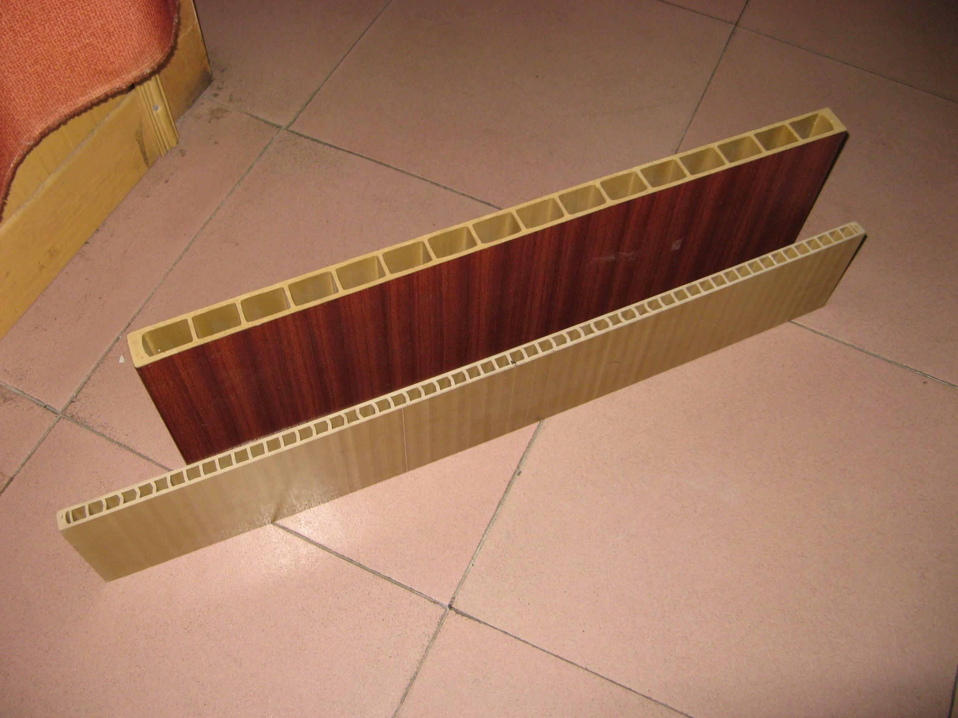 WPC hollow door board