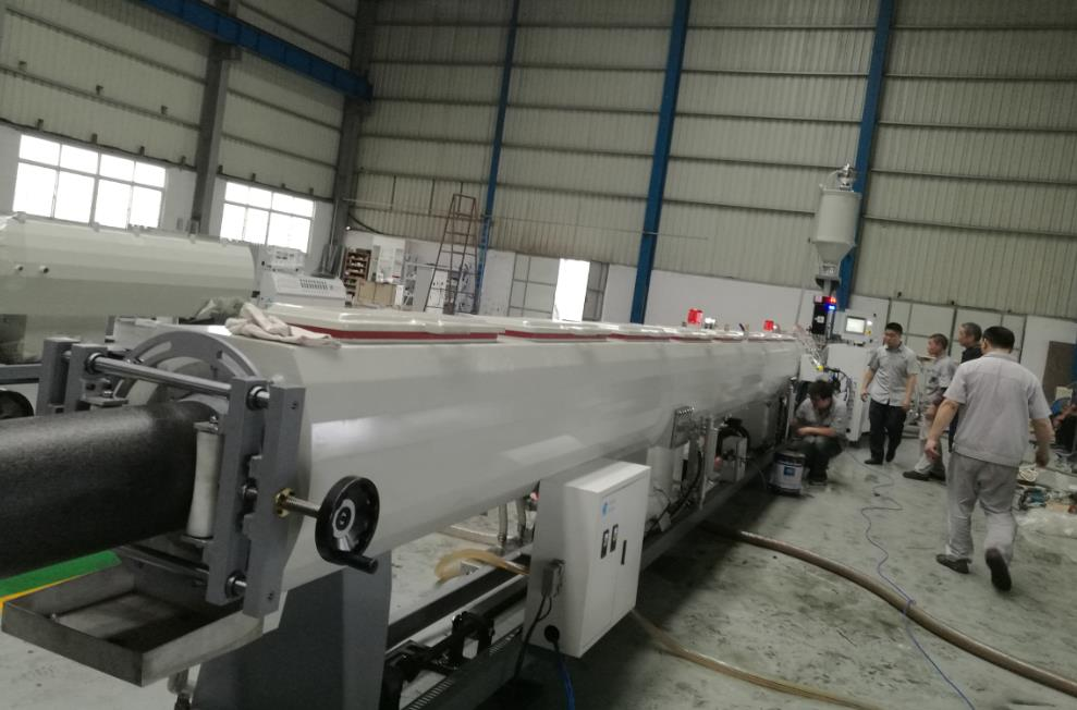 high speed HDPE pipe extrusion machine