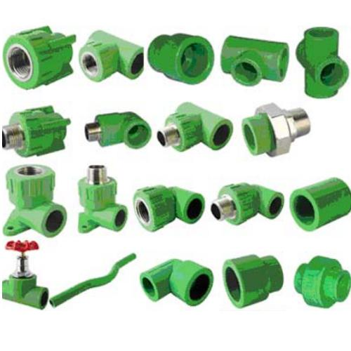 variour types of PPR fittings