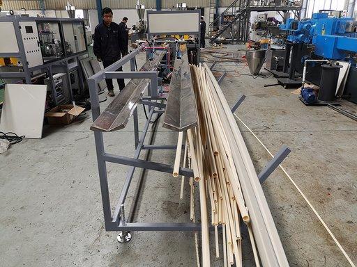 Finish PVC pipes