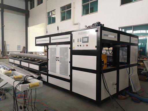 After tested 500mm PVC pipe socketing machine