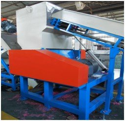 Side view of PE Film Crusher
