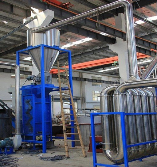 Pipe drying system