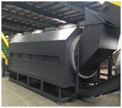 Rolling separator for plastic recycling plastic