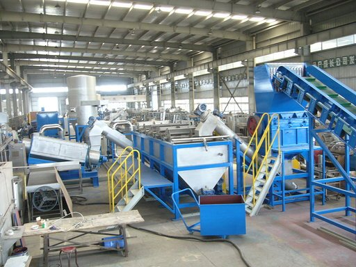 Automatic PP PE film plastic recycle washing line