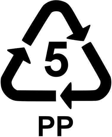 PP recycling number