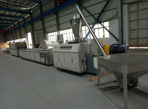 Complete Window frame extrusion line from Benk