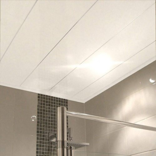 PVC ceiling on bathroom