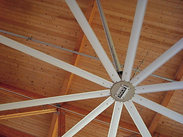 Wood ceiling example