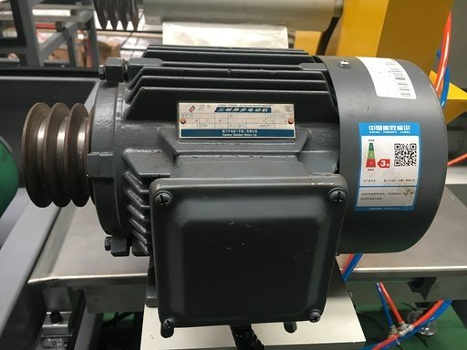 Siemens motor for cutter