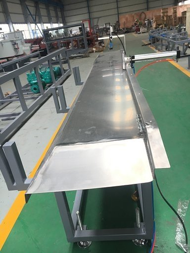 Stainless steel stacking table
