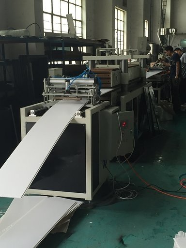 PVC ceiling panel production line downstream equipment